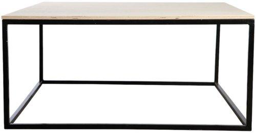På billedet ser du variationen fra brandet House Doctor i en størrelse 100 x 100 cm. x H: 45 cm. i farven Sort
