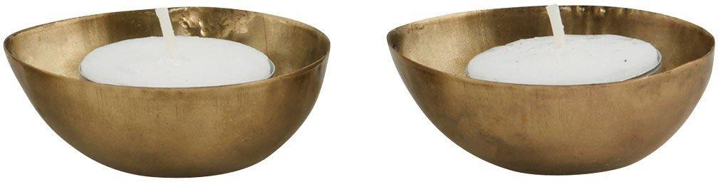 Image of   Fyrfadsstage, Egg by House Doctor (B: 6 cm. L: 7 cm., Messing)