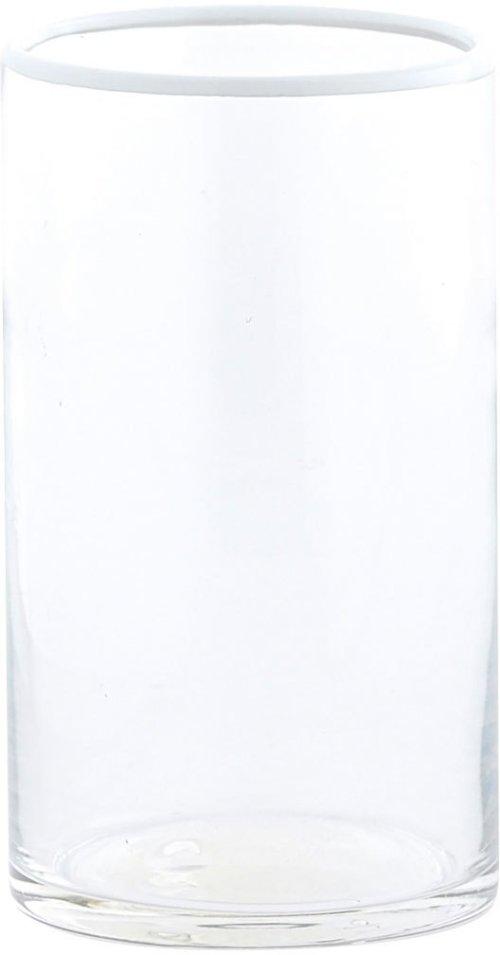 På billedet ser du variationen fra brandet House Doctor i en størrelse D: 8 cm. x H: 14 cm. i farven Klar