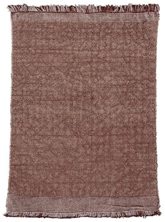 Image of   Gulvtæppe, Shander by House Doctor (B: 60 cm. L: 90 cm., Brændt henna)
