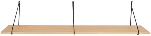 På billedet ser du variationen fra brandet House Doctor i en størrelse 129 x 24 x 1,5 cm. i farven Oak