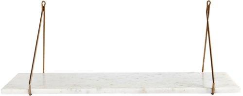 På billedet ser du variationen fra brandet House Doctor i en størrelse 24 x 70 cm. i farven Hvid