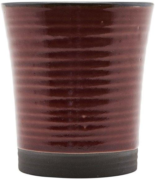 På billedet ser du variationen fra brandet House Doctor i en størrelse D: 8 cm. x H: 9 cm. i farven Brændt henna
