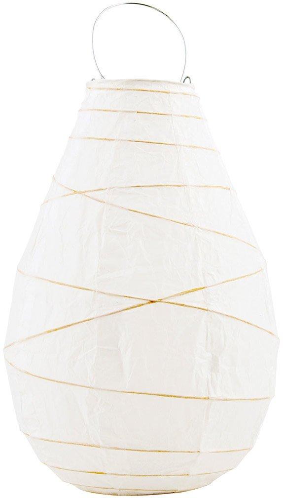 Image of   Drop, Lanterne by House Doctor (D: 20 cm. x H: 30 cm., Hvid)