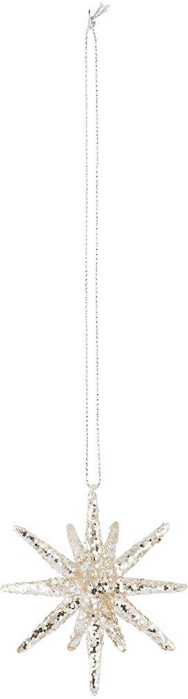På billedet ser du variationen fra brandet House Doctor i en størrelse H: 7,5 cm. i farven Sølv
