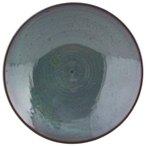 På billedet ser du variationen fra brandet House Doctor i en størrelse D: 23 cm. x H: 6 cm. i farven Blå/Grøn