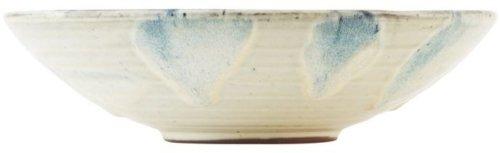 På billedet ser du variationen fra brandet House Doctor i en størrelse D: 23 cm. x H: 6 cm. i farven Hvid/Blå