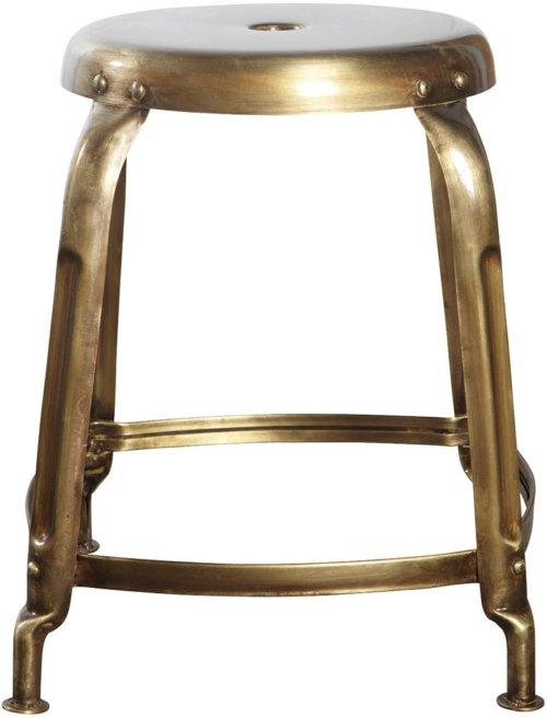 På billedet ser du variationen fra brandet House Doctor i en størrelse D: 36 cm. x H: 45 cm. i farven Gylden