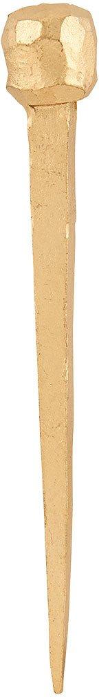 På billedet ser du variationen fra brandet House Doctor i en størrelse L: 9 cm. i farven Messing