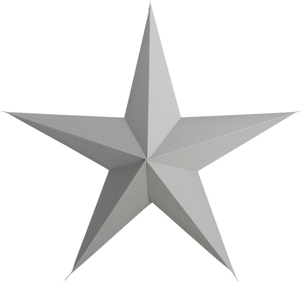 Image of   Stjerne, 5 point by House Doctor (B: 45 cm., Grå)