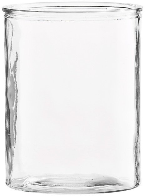 På billedet ser du variationen fra brandet House Doctor i en størrelse D: 12,5 cm. x H: 15 cm. i farven Klar