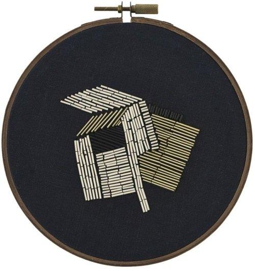 På billedet ser du variationen Beads, Wall art fra brandet House Doctor i en størrelse D: 25 cm. i farven Sort