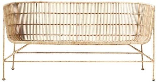 På billedet ser du variationen fra brandet House Doctor i en størrelse 140 x 65.5 cm. x H: 70 cm. i farven Natur