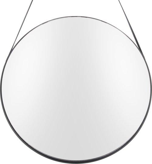 På billedet ser du et stemningsbillede (#1) fra Spejl, Balanced, Round fra brandet Present Time i en størrelse D: 47 cm. i farven Sort