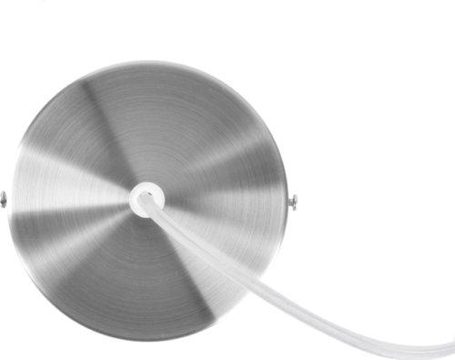 På billedet ser du et stemningsbillede (#1) fra Hængelamper, Refine large fra brandet Present Time i en størrelse D: 40,5 cm. H: 33 cm. i farven Hvid