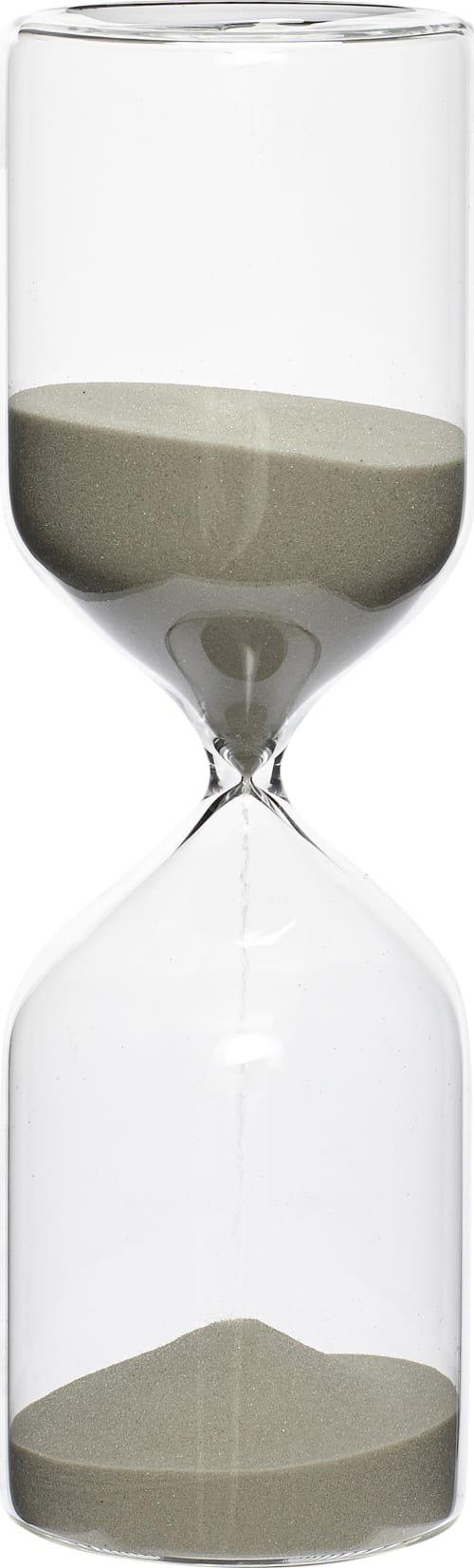 På billedet ser du variationen fra brandet Hübsch i en størrelse D: 8 cm. H: 25 cm. 1 time i farven Klar/Sand