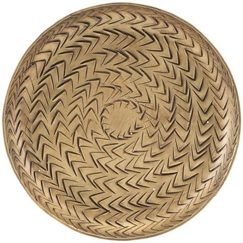 Image of Bakke, Rattan by House Doctor (D: 12 cm., Messing)