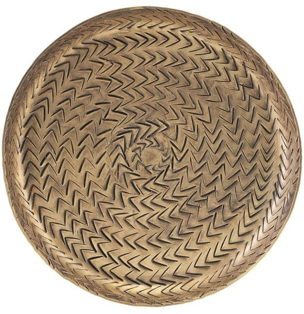 Image of   Bakke, Rattan by House Doctor (D: 16 cm., Messing)