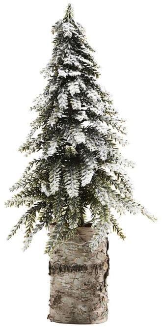På billedet ser du variationen Juletræ, 25 LED pærer m. batteriknap fra brandet House Doctor i en størrelse H: 50 cm. B: 18 cm. L: 18 cm. i farven Hvid/Grøn