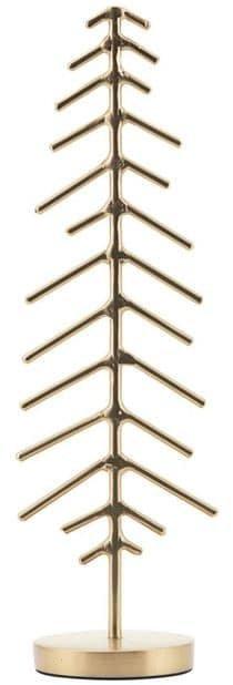 På billedet ser du variationen Juletræ, X-mas fra brandet House Doctor i en størrelse D: 6 cm. H: 20,5 cm. i farven Messing