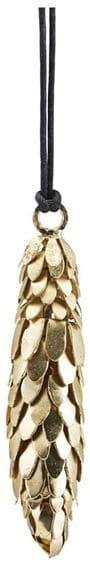 På billedet ser du variationen Ornament, Corne fra brandet House Doctor i en størrelse L: 8 cm. i farven Messing