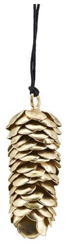På billedet ser du variationen Ornament, Corne fra brandet House Doctor i en størrelse B: 6,5 cm. L: 6,5 cm. i farven Messing