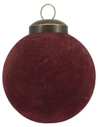 På billedet ser du variationen Ornamenter, Flock fra brandet House Doctor i en størrelse D: 5,5 cm. i farven Brændt henna