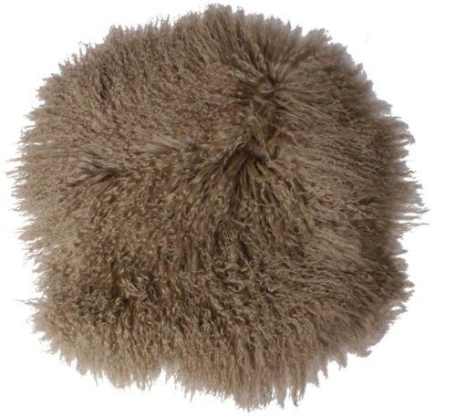 På billedet ser du variationen Sædeskind, Tibetan fra brandet Preform i en størrelse Ø: 38 cm. i farven Antikgrå