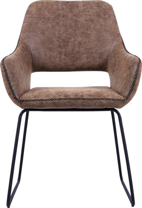 På billedet ser du variationen Spisebordsstol, Angel fra brandet Preform i en størrelse H: 83 cm. B: 56 cm. L: 48 cm. i farven Brun/Sort