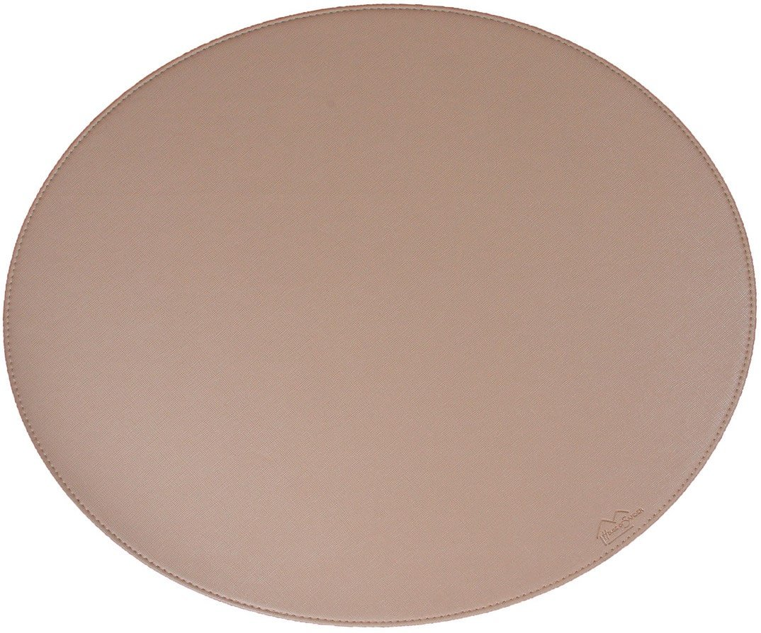 Image of   Dækkeserviet, Blank by House of Sander (H: 36,5 cm. B: 44,5 cm., Beige)