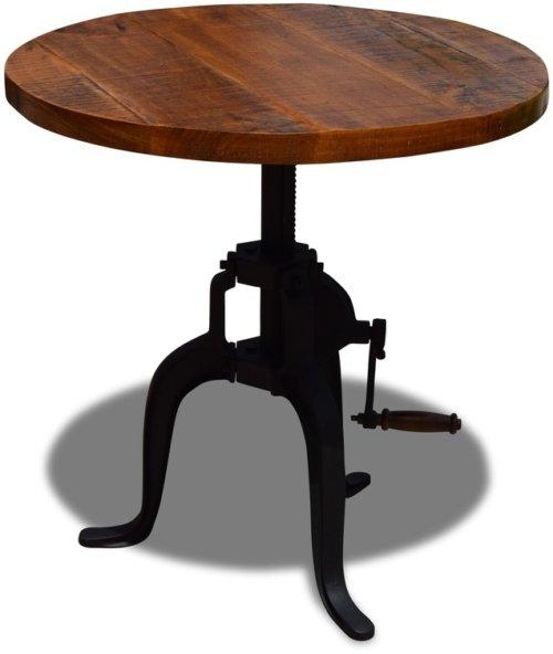På billedet ser du variationen Cafebord, Danegeld fra brandet OBUZI i en størrelse D: 60 cm. H: 50 cm. i farven Rød/Sort