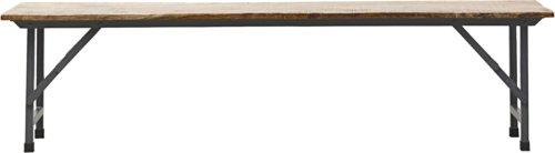 På billedet ser du variationen Bænk, Party fra brandet House Doctor i en størrelse H: 45 cm. B: 36 cm. L: 180 cm. i farven Mørkegrå/Natur