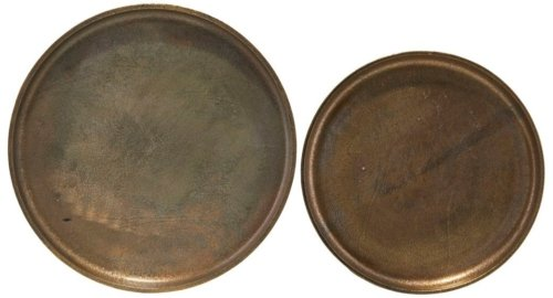 På billedet ser du variationen Bakke, Rio fra brandet House Doctor i en størrelse D: 36 cm. H: 3 cm. i farven Bronze