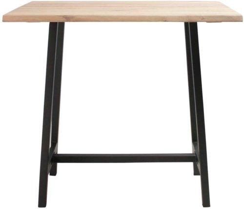 På billedet ser du variationen Barbord, Curve sofa, Bar base fra brandet Preform i en størrelse H: 103 cm. B: 80 cm. L: 120 cm. i farven Lys Natur/Sort
