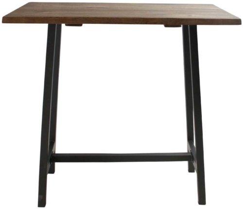 På billedet ser du variationen Barbord, Curve sofa, Bar base fra brandet Preform i en størrelse H: 103 cm. B: 80 cm. L: 120 cm. i farven Mørk Natur/Sort