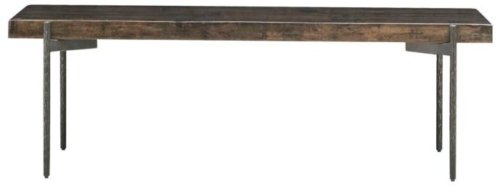 På billedet ser du variationen Bord, Close fra brandet House Doctor i en størrelse H: 45 cm. B: 50 cm. L: 140 cm. i farven Mørk Natur/Jern
