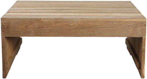 På billedet ser du variationen Bord, Woodie fra brandet House Doctor i en størrelse 82 x 70 cm. x H: 35 cm. i farven Natur