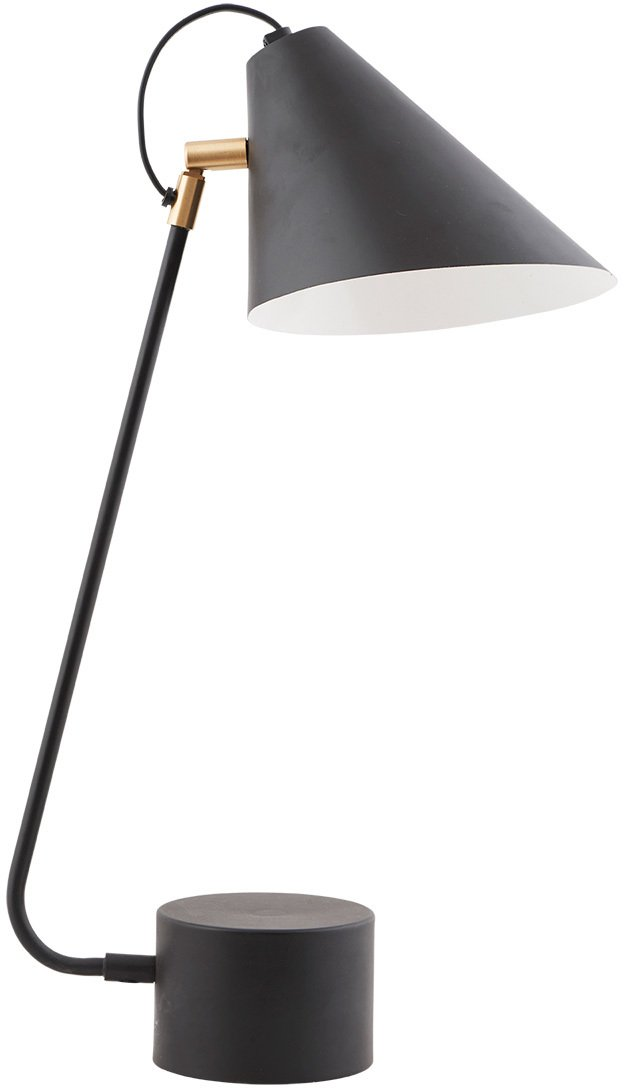 Image of   Club, Bordlampe by House Doctor (D: 18-20 x cm. x H: 54 cm., Sort)