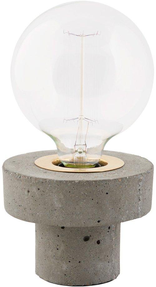 På billedet ser du variationen Pin, Bordlampe fra brandet House Doctor i en størrelse D: 13 cm. x H: 10 cm. i farven Grå