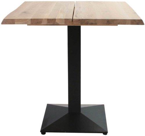 På billedet ser du variationen Cafebord, Curve plade, Austin Cafe base fra brandet Preform i en størrelse H: 75 cm. B: 80 cm. L: 80 cm. i farven Lys Natur/Sort