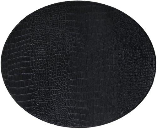 På billedet ser du variationen Dækkeserviet, Snake fra brandet House of Sander i en størrelse H: 36,5 cm. B: 44,5 cm. i farven Sort