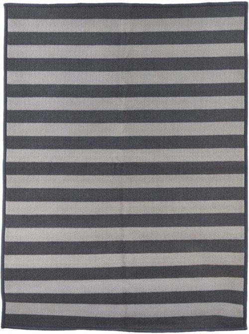 På billedet ser du Dørmåtte, Stripe fra brandet House Doctor i en størrelse 60 x 90 cm. i farven Grå/Lysegrå