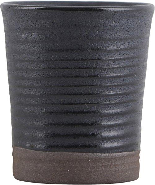På billedet ser du variationen Espressokrus/Æggebæger, Colour 11 fra brandet House Doctor i en størrelse D: 4 cm. H: 5,5 cm. i farven Blå/Sort