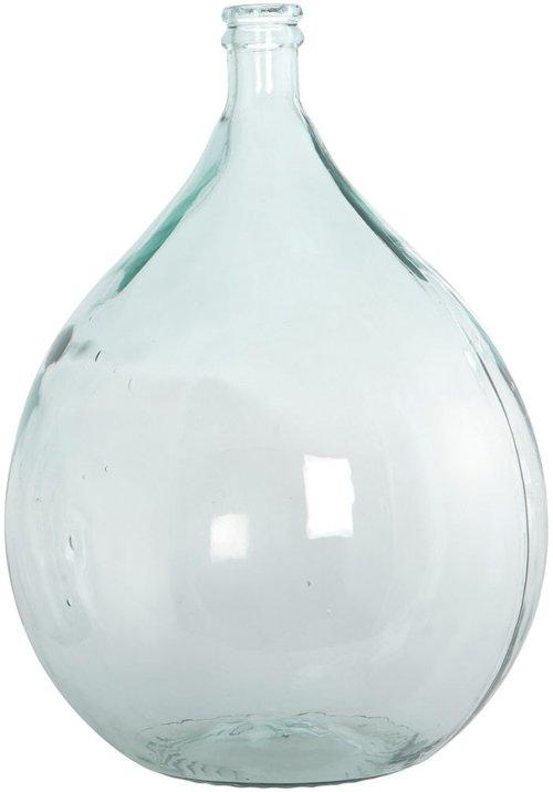 På billedet ser du variationen Flaske genbrugsglas fra brandet House Doctor i en størrelse D: 40 cm. x H: 56 cm. i farven Klar