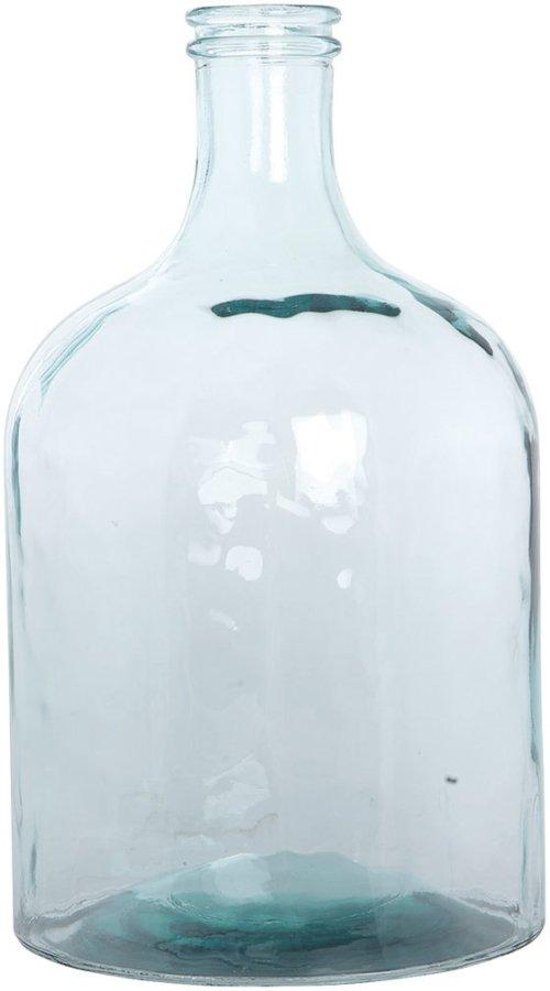 På billedet ser du variationen Flaske h: 43,5 cm fra brandet House Doctor i en størrelse D: 25 cm. x H: 43,5 cm. i farven Klar