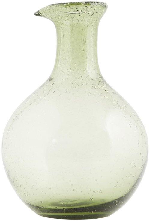 På billedet ser du variationen Universal, Flaske fra brandet House Doctor i en størrelse D: 14,5 cm. x H: 21 cm. i farven Grøn