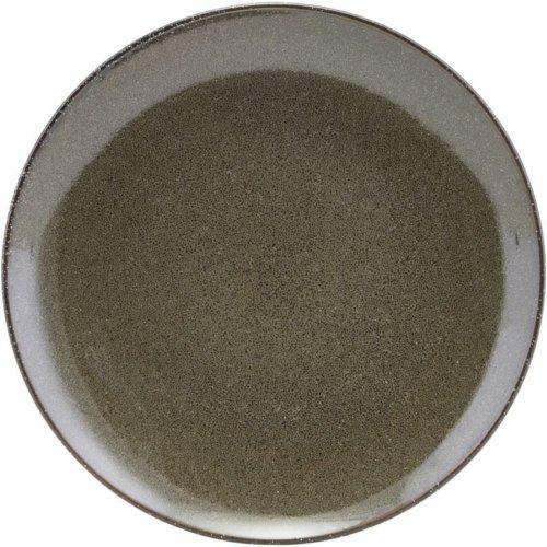 På billedet ser du variationen Frokost Tallerken, Lake fra brandet House Doctor i en størrelse D: 21,4 cm. i farven Mørkegrøn