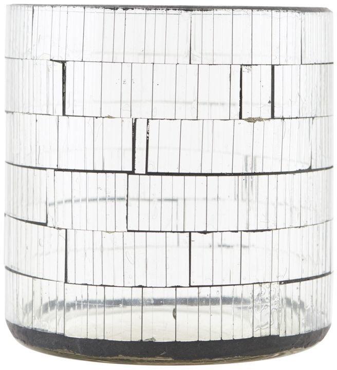 Image of   Fyrfadsstage, Brooken by House Doctor (D: 10 cm. x H: 10 cm., Glas)