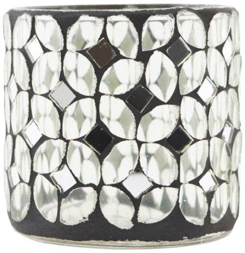 På billedet ser du variationen Fyrfadsstage, Petal fra brandet House Doctor i en størrelse D: 7.5 cm. x H: 7.5 cm. i farven Glas