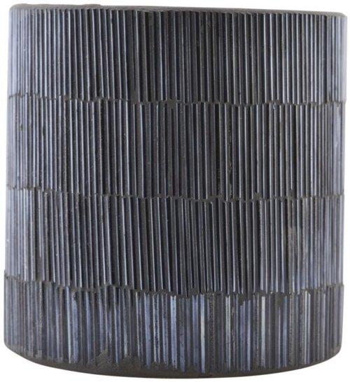 På billedet ser du variationen Fyrfadstage, Pipe fra brandet House Doctor i en størrelse D: 10 cm. x H: 10 cm. i farven Sort/Grå